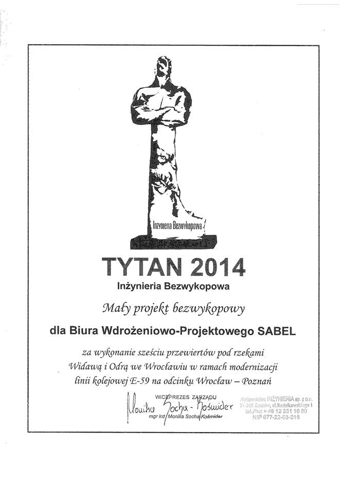 Tytan - 2014
