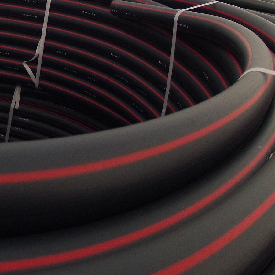 RHDPEwpg Rury osłonowe do kabli optotelekomunikacyjnych z wewnętrzną warstwą poślizgową gładką